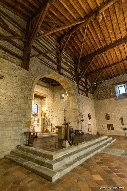 La Antigua, altar - Zumarraga