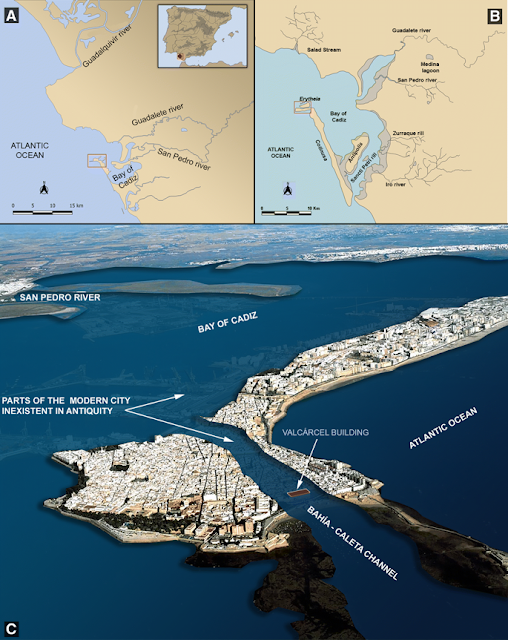Phoenician-Punic and Roman port located in Spain's port city Cadiz