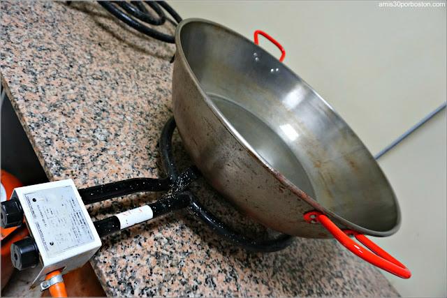 Paila Tradicional para Cocinar el Choto al Ajillo