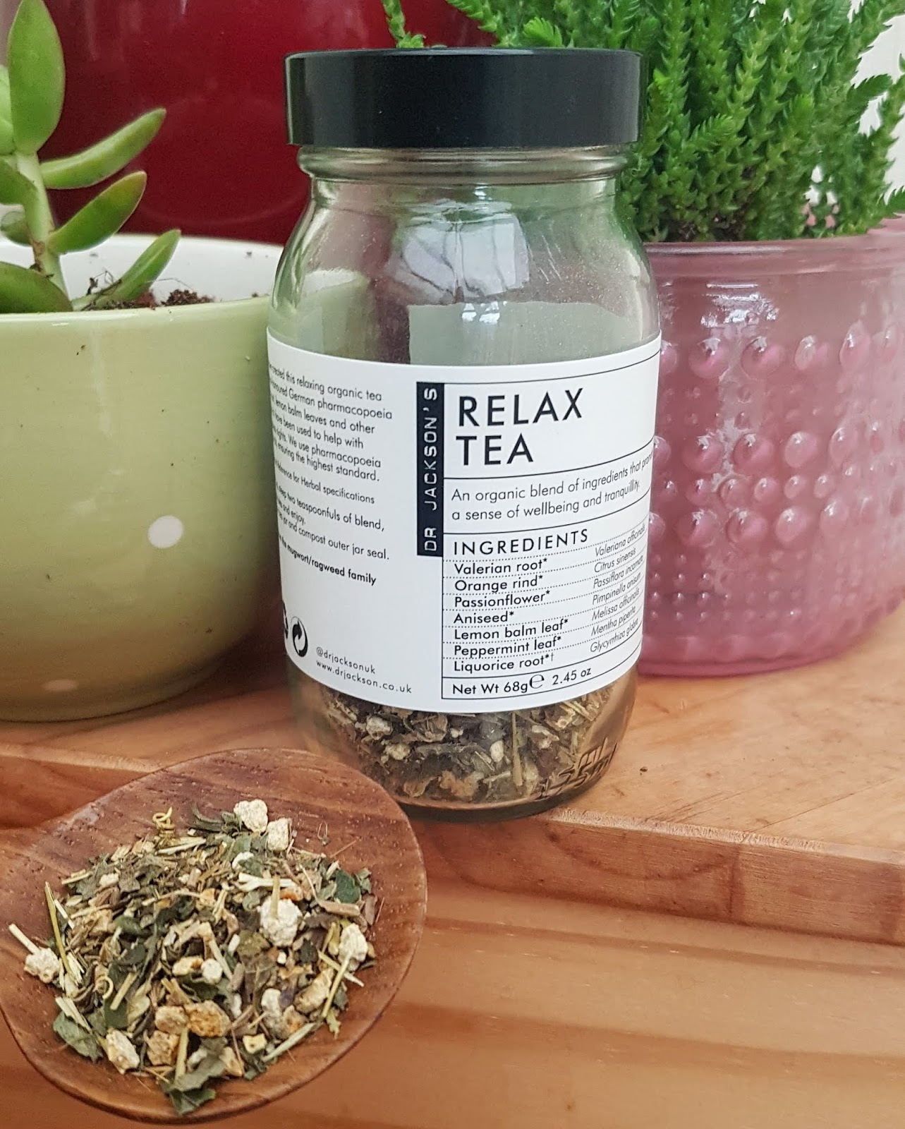 2020 Beauty Shortlist Awards - Judge Favourites Dr Jackson's Relaxing Tea Review