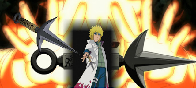 Teleport Kunai During the Third Shinobi World War, in the battle between Konohagakure and Iwagakure, one of the Konoha ninjas threw this kunai behind enemy lines allowing Minato to instantly teleport to various locations and kill enemy shinobi at the same time making it difficult for the enemy to predict where he was. will teleport forward. Minato also kept some of these knives in his safe house, so that Minato could teleport there quickly if needed.