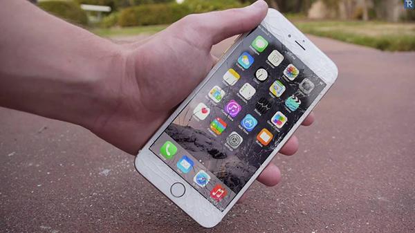 Mặt kính iphone 6 cần thay mới