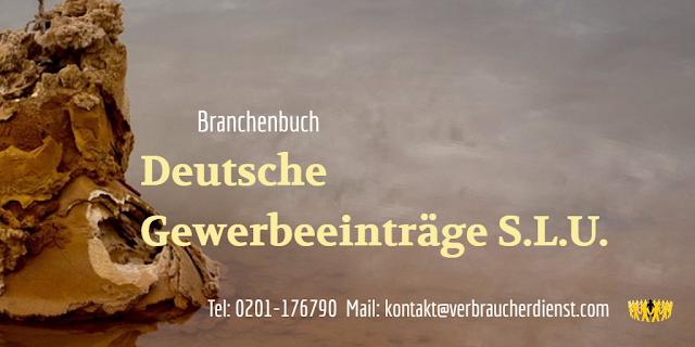 Beitragsbild: Deutsche Gewerbeeinträge S.L.U. - Branchenbuch deutschegewerbeeintraege.com