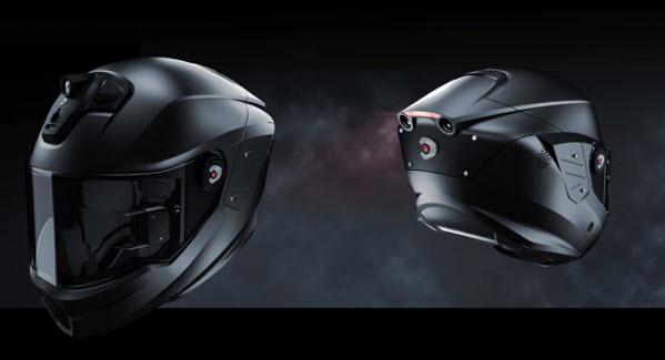 Helm Canggih Dengan Sistem Operasi Android