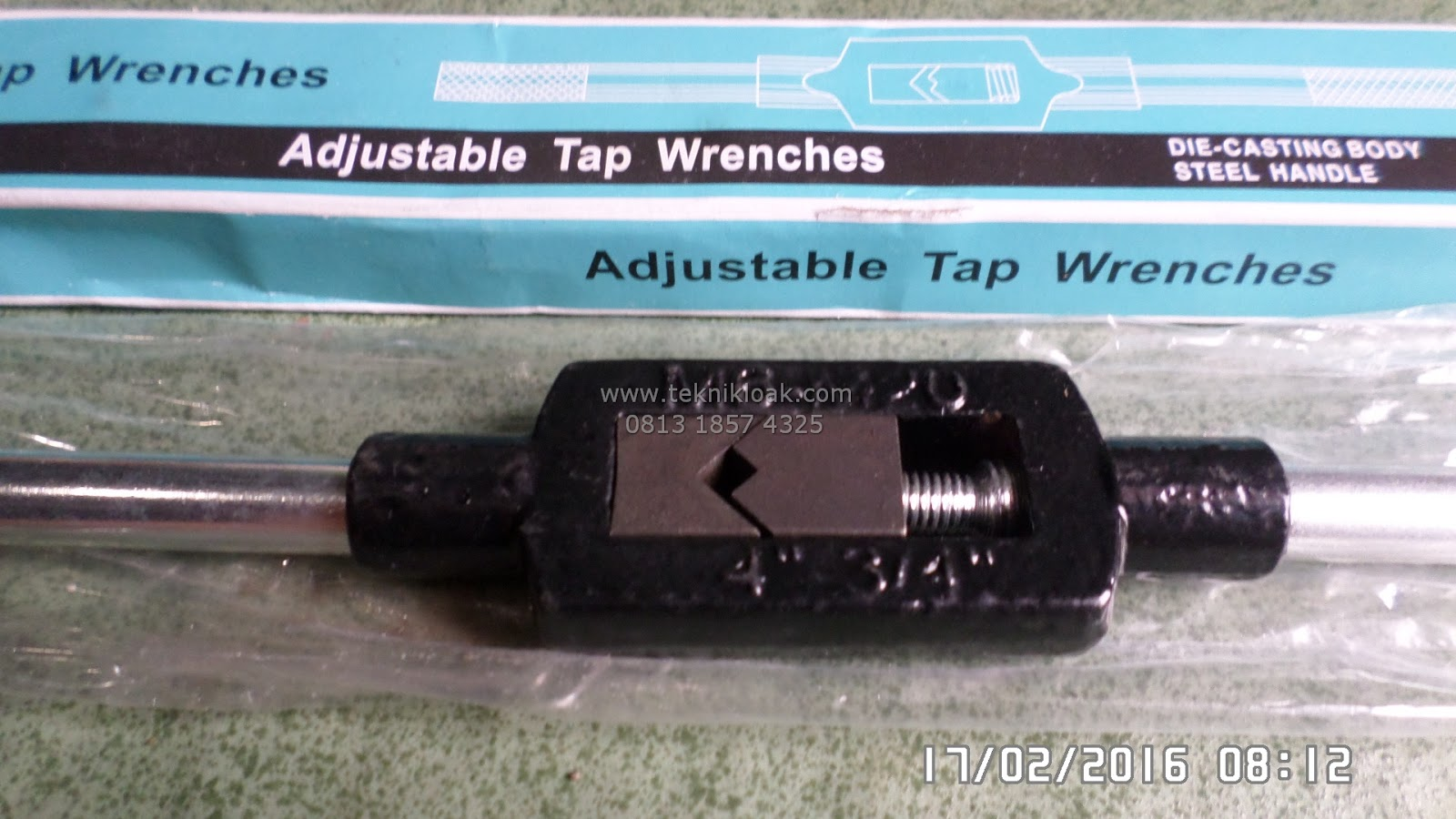 Stang Tap   Gagang Tap   Pegangan Tap   Tap Wrenches