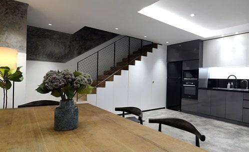 Cách bố trí nội thất nhà phố đẹp nhỏ bé có cảm giác rộng hơn