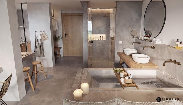 Pop Design For Small Bathroom