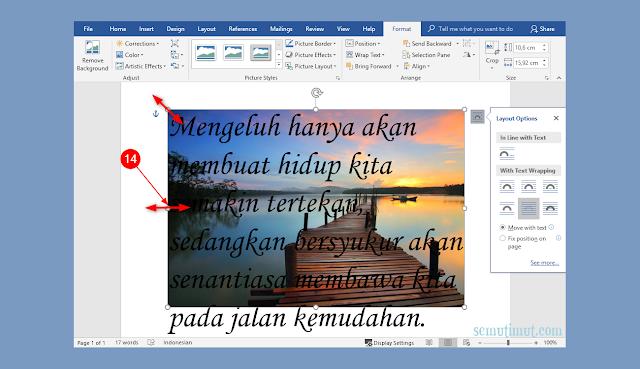 cara menyisipkan gambar pada microsoft word