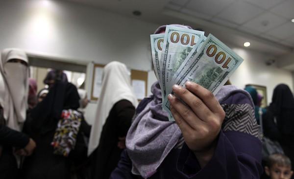 رابط فحص المنحة القطرية الـ100$ لقطاع غزة