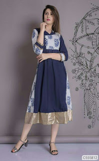 Beautiful Cotton Printed Kurtis
