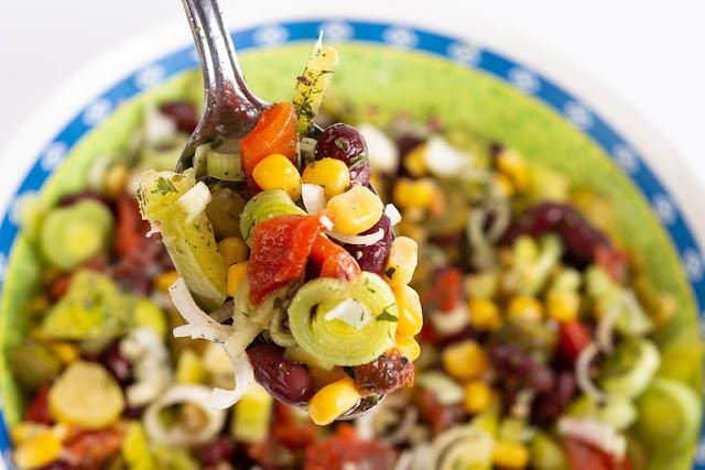 Corn, Tomato and Cucumber Salad recipe