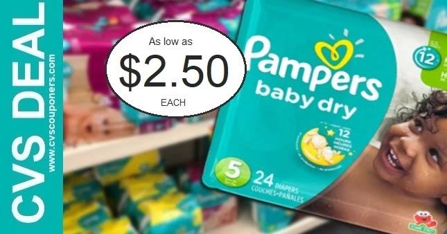 Pampers CVS Coupon Deal 2-21-2-27