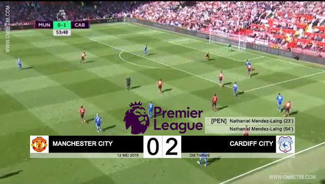 [VIDEO] Cuplikan Gol Manchester United VS Cardiff City Skor Akhir 0-2