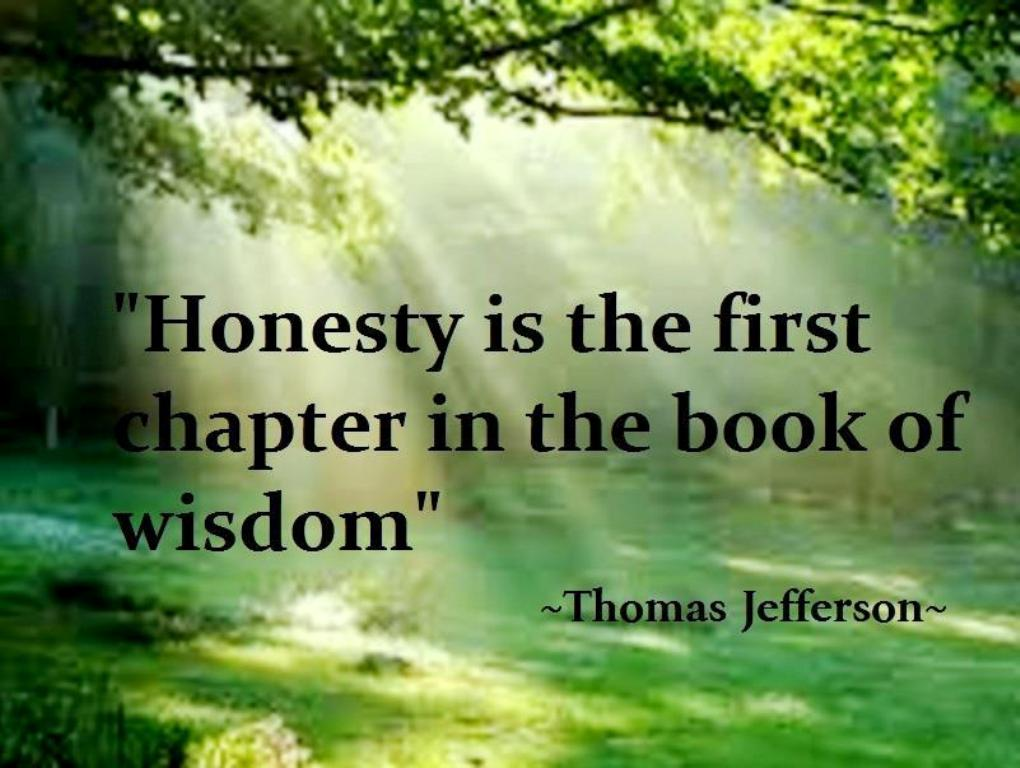Honesty is more than just a virtue.