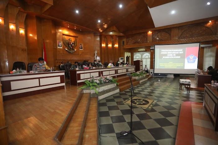 Bupati Asahan Ikuti Musrenbang RKPD Provsu Tahun 2021 Dengan Kementerian Dalam Negeri