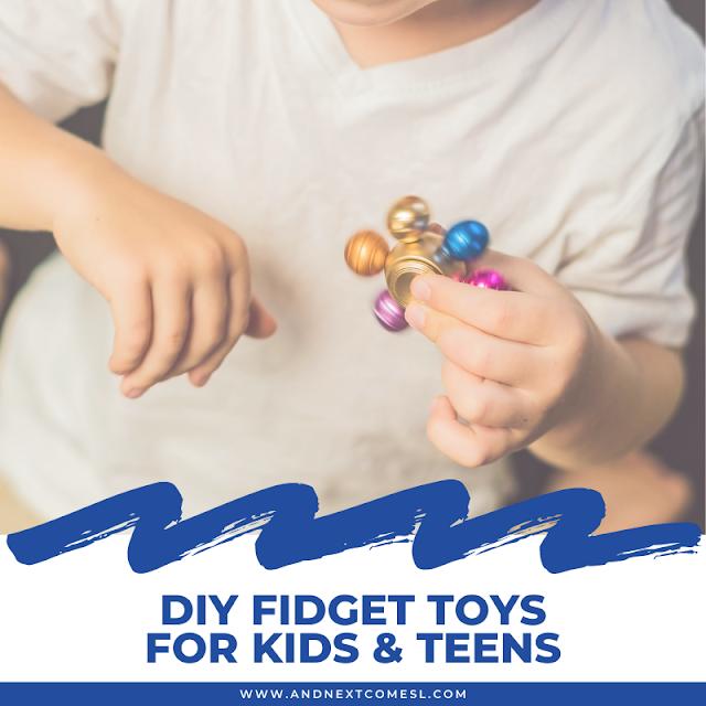How to make homemade fidget toys