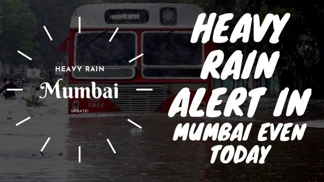 Mumbai Mausam News: Heavy Rain Alert