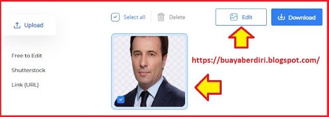 Cara Mengganti Background Foto Menjadi Merah di PicsArt