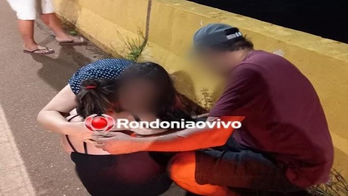 Populares salvam mulher que queria se jogar da ponte do rio Madeira