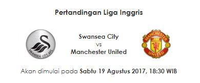 Siaran Langsung Swansea City vs Manchester United