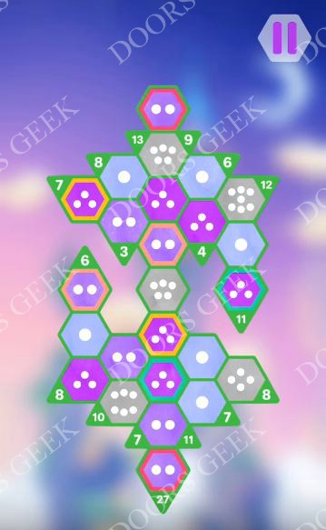 Hexologic Level 59 Solution, Cheats, Walkthrough for android, iphone and PC Steam