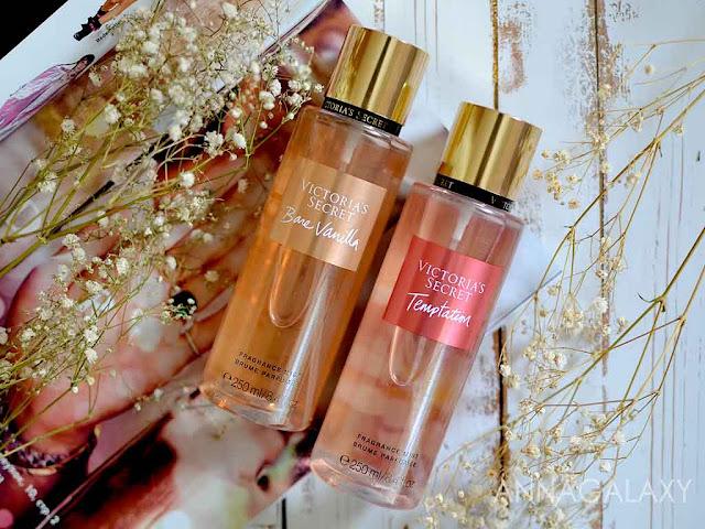 Victoria's Secret Bare Vanilla и Temptation Fragrance Mist отзыв