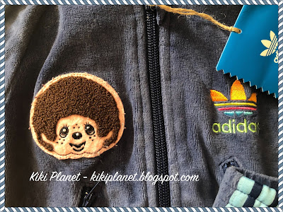 kiki monchhichi, monchhichi X adidas warm up baby jogging peluche concept store colette limited collector édition limitée