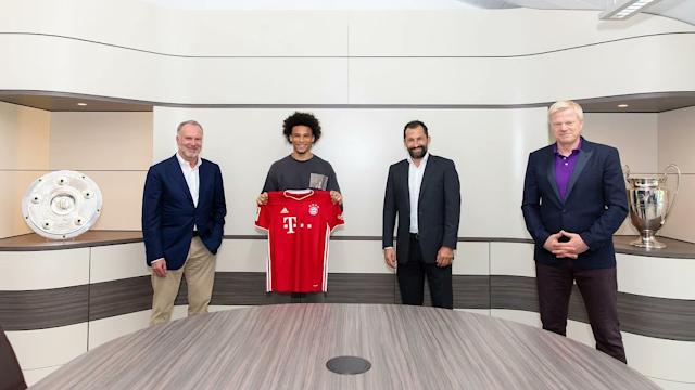 RESMI : Leroy Sane Pemain Bayern Munchen
