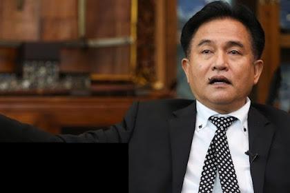 Yusril: Jokowi Jangan Jadi Presiden kalau Begini Caranya