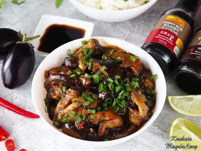 Bakłażany po chińsku