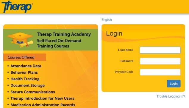 therap services login