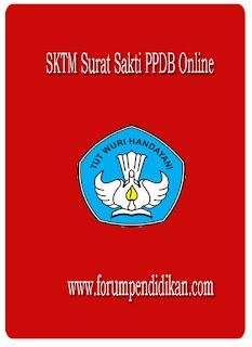 SKTM Surat Sakti PPDB Online