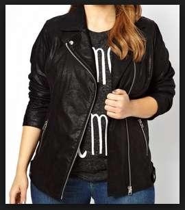 model jaket kulit ukuran xxl untuk perempuan