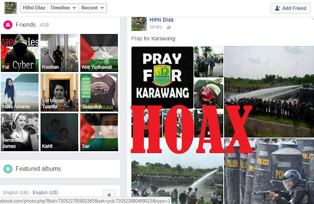 PrayForKarawang, Berita Juni 2014 Kenapa Beredar Lagi Hari Ini, Hoax untuk 'Jatuhin' Jokowi?