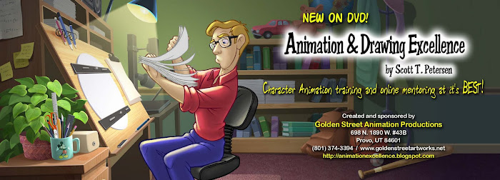 Animation and Drawing Excellence DVD series