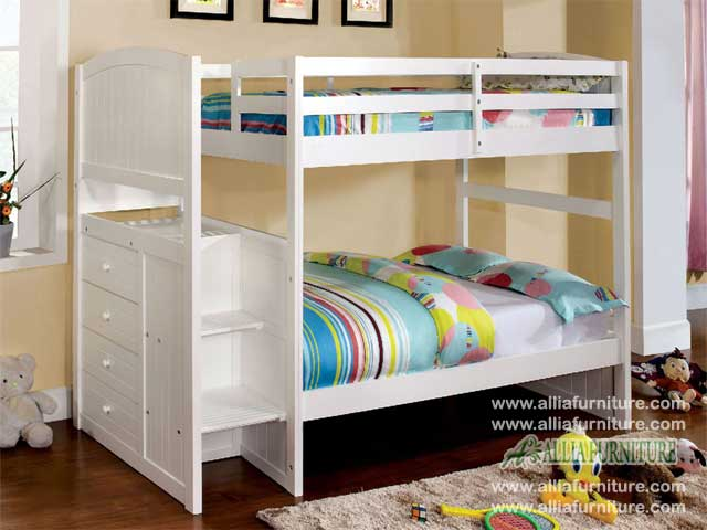 tempat tidur ranjang susun anak nevada