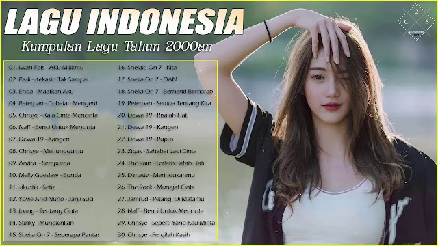 Download Kumpulan Lagu Pop Indonesia Spesial Tahun 2000AN