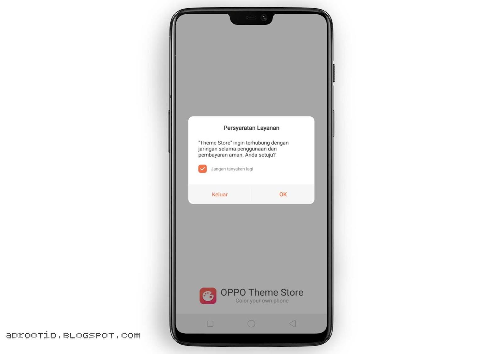 Cara Instal Theme Store Realme