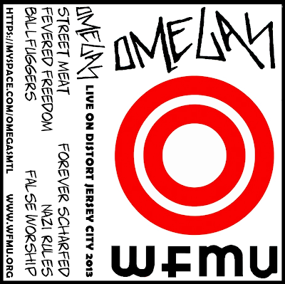 OMEGAS - live on distort jersey city-WFMU radio east orange-NJ july 17, 2013 (mtl-canada)