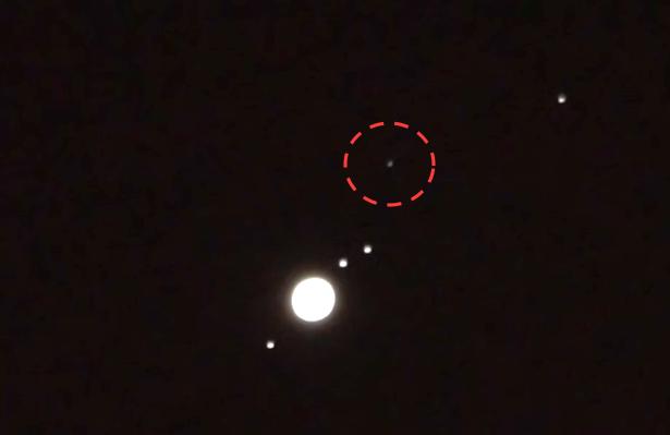 Ufo Sightings Daily Giant Ufo Near Jupiter Seen Through