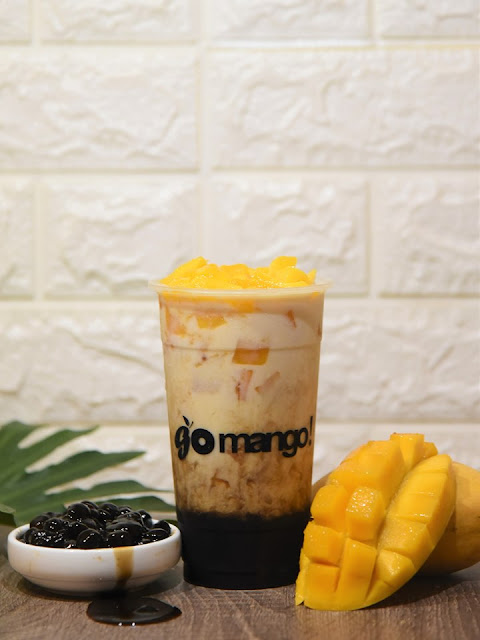 Go Mango - Mango Milk with Brown Sugar Boba