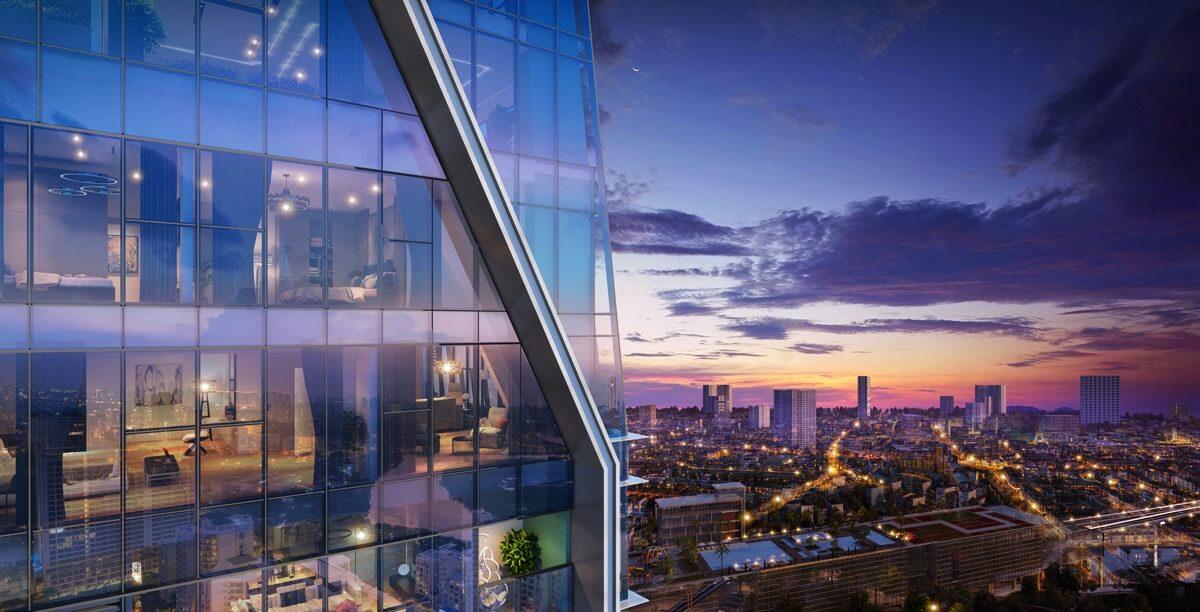 Tầm nhìn bao quát khu vực dự án Grandeur Palace