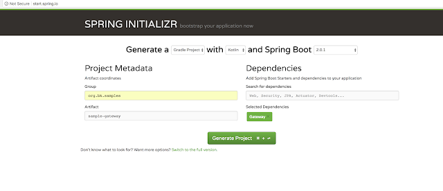 Spring Cloud Gateway - Configuring a Simple Route - DZone