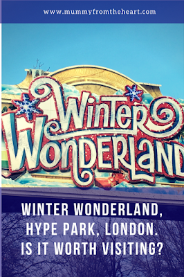 Winter wonderland London - an honest post revealing all about if it is worth a visit