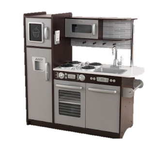 The Uptown Espresso Play Kitchen Set