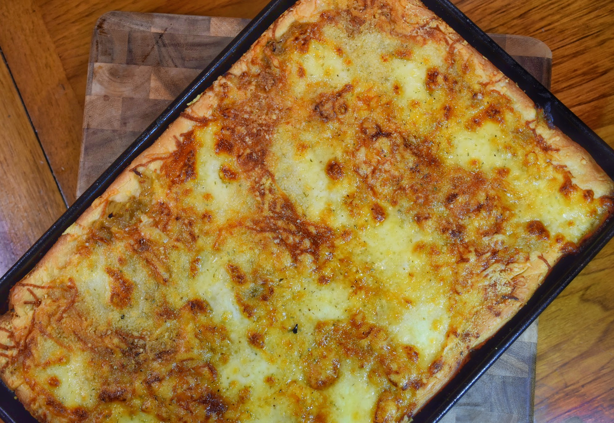 Cheese Sficone with Onions