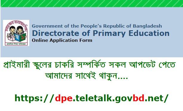 DPE.Teletalk.Com.BD: Online Application | Admit Card | Result