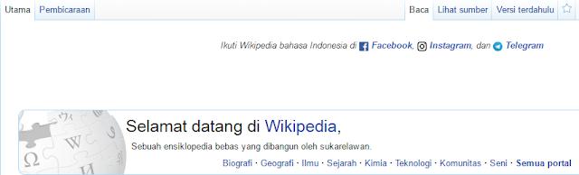 daftar akun baru wikipedia