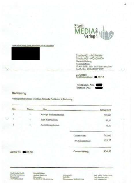 Scan: Offerte Stadt Media Verlag GmbH / Juni 2018