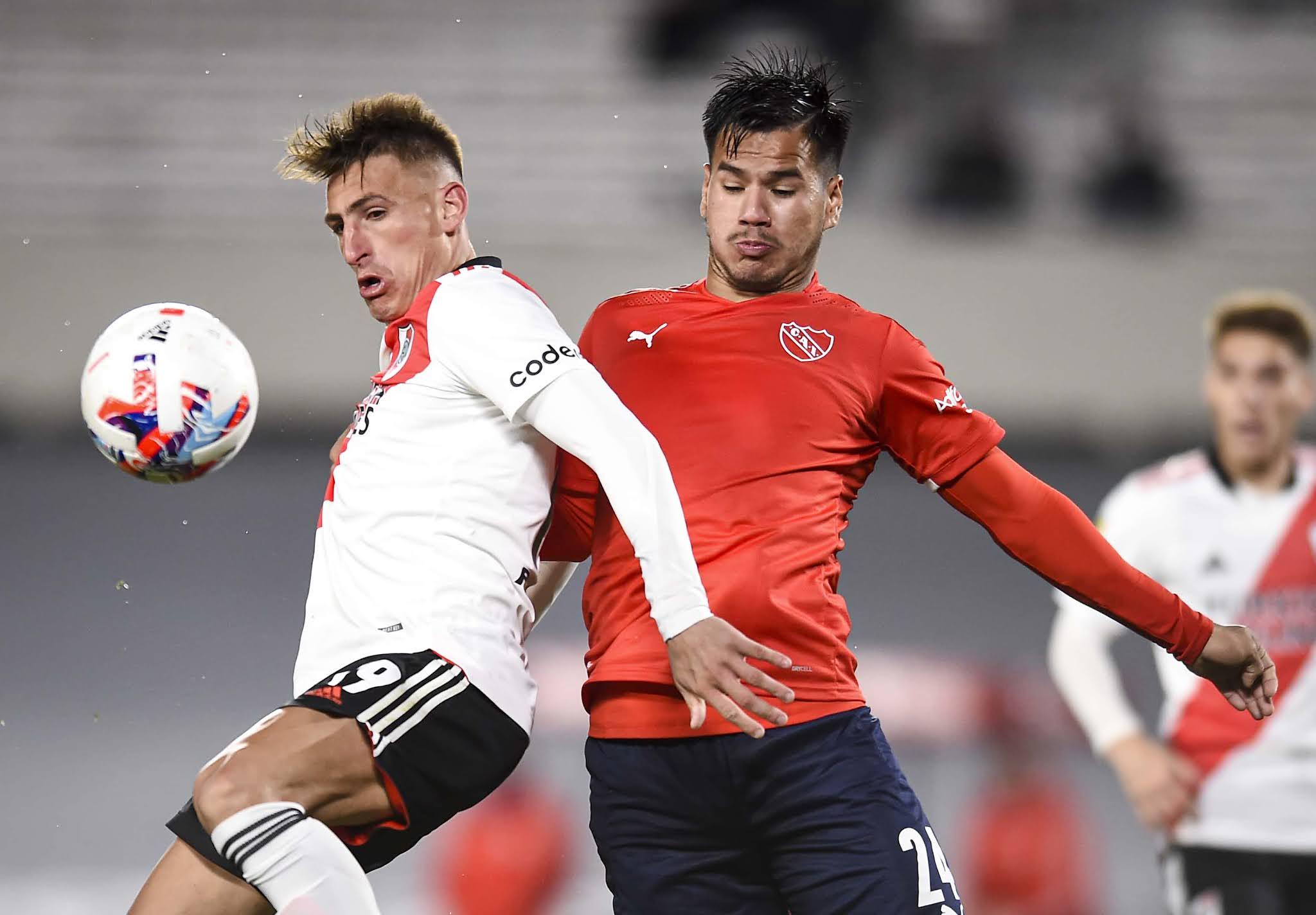 River e Independiente se repartieron un tiempo cada uno para un empate justo